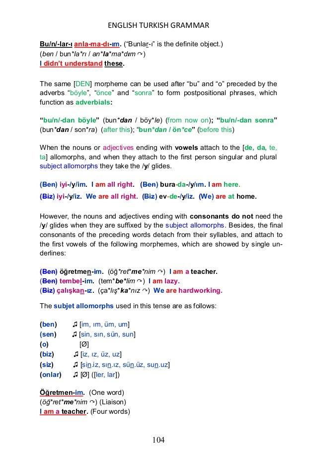English turkish grammar functional and transformational, yuksel goknel, 2015
