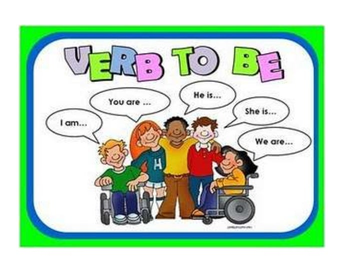 English Verb To Be Present Tense