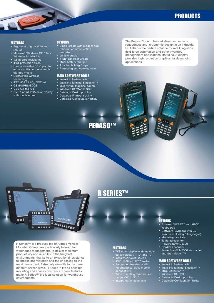 English version mobile computers reference catalog