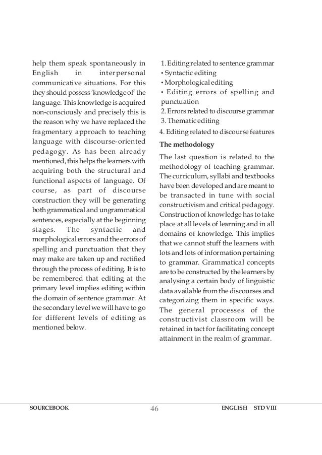 english language in discourse oriented pedagogy In this study, we examine instances of future-oriented talk produced by novice english as-a-second-language (esl) teachers during mentoring meetings in one north american university setting context-specific functions of future-oriented discourse (eg, planning, prediction) are investigated in relation to reflective thinking and teacher identity.