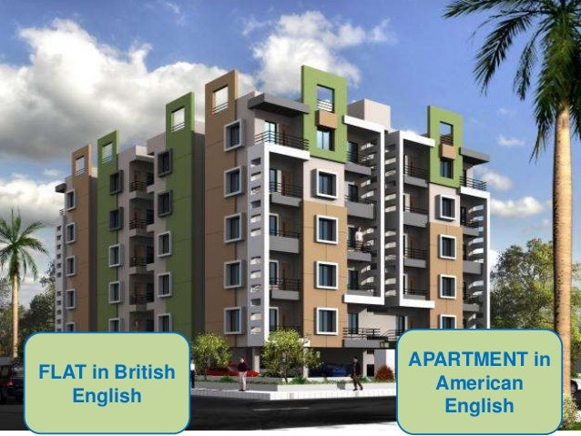 Apartment In American English Flat In British English With Condo Vs  Apartment