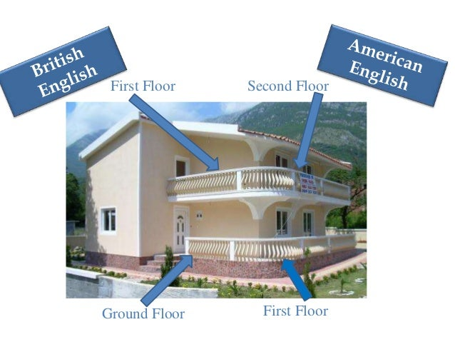 English vs american for Ground floor vs first floor