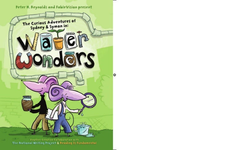 """Water Wonders, young sibling scientists Sydney and          Symon Starr """"show what they know"""" as they explore science   an..."""