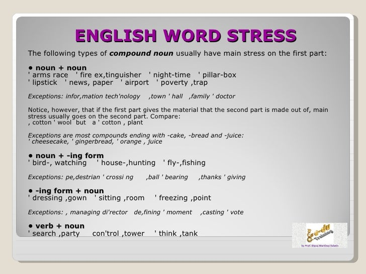 English word stress 2012