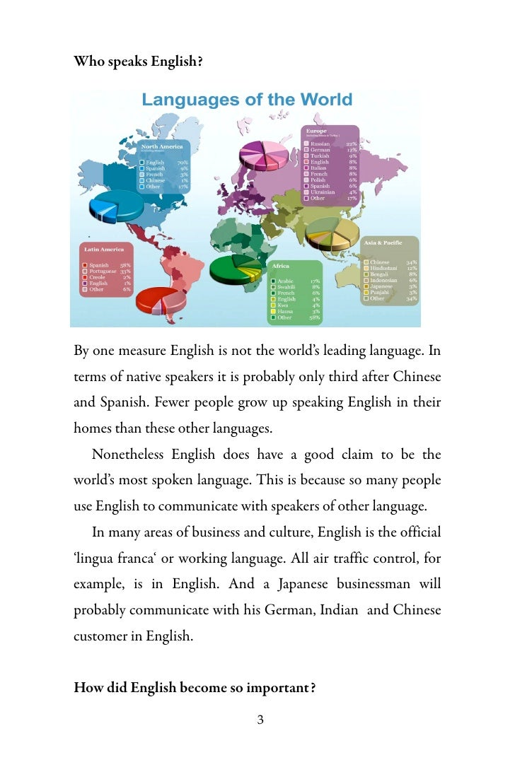 FAQs About The English Language Global Language - Spanish global language