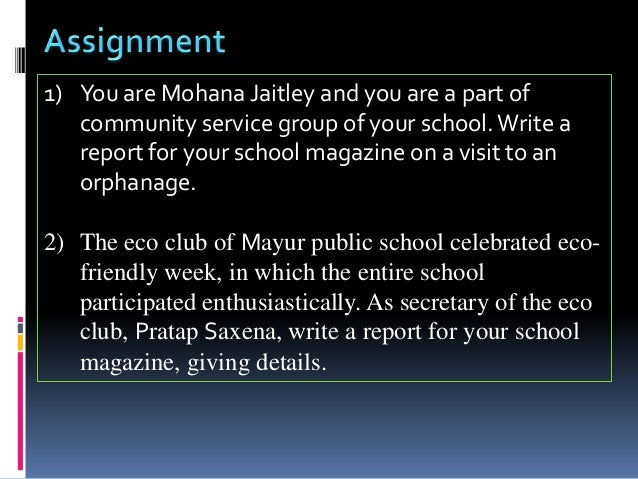 Please help write my essay   EducationUSA   Best Place to Buy     Report Writing for the Community Services
