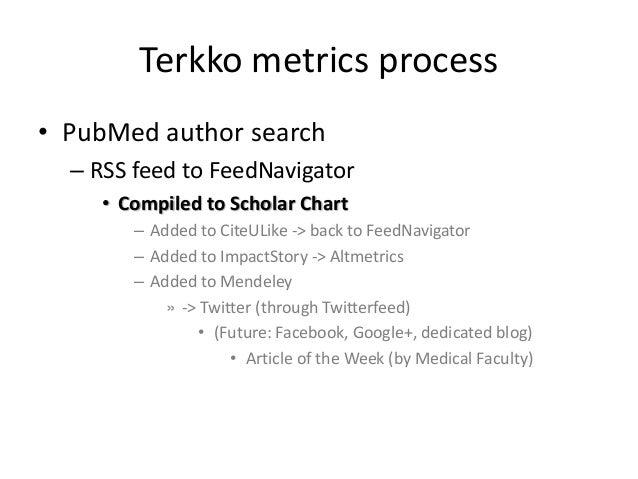 Terkko altmetrics process Slide 3
