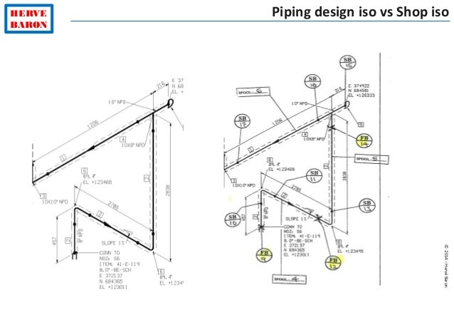 Piping Isometric Drawing Exercises