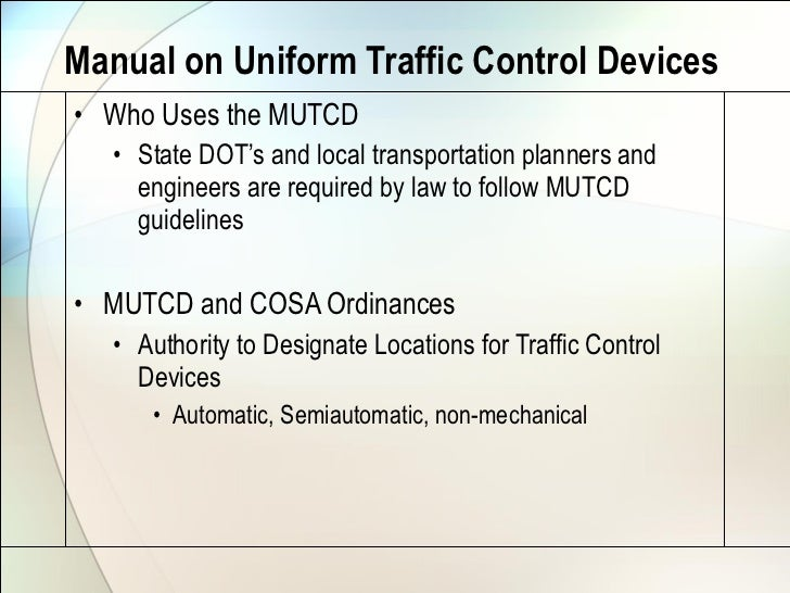 california manual on uniform traffic control devices