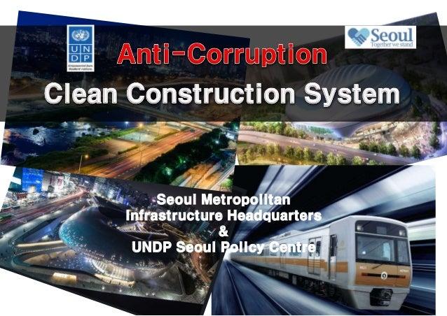 Seoul Metropolitan Infrastructure Headquarters & UNDP Seoul Policy Centre