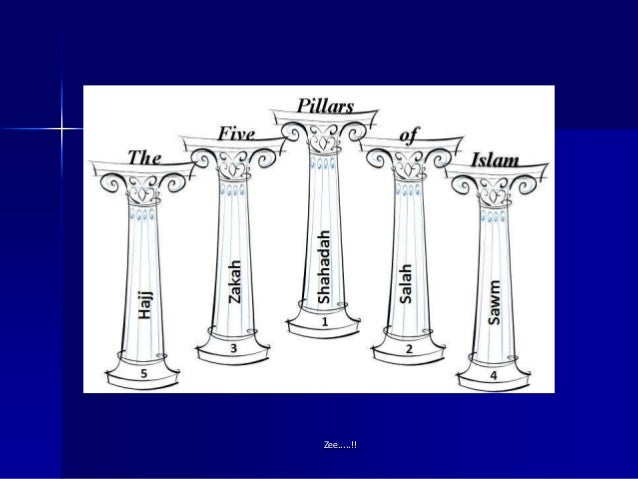 5 pillars of Islam...