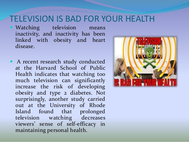 why watching tv is bad for child