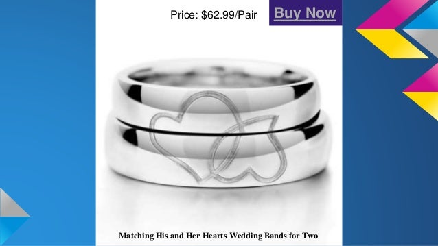 Matching Engraved Promise Ring Bands For Him And Her 10