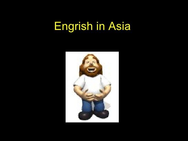 Engrish in Asia