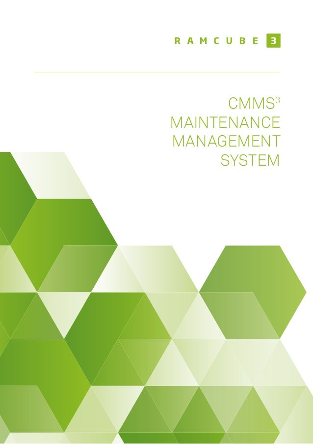 CMMS3 MAINTENANCE MANAGEMENT SYSTEM