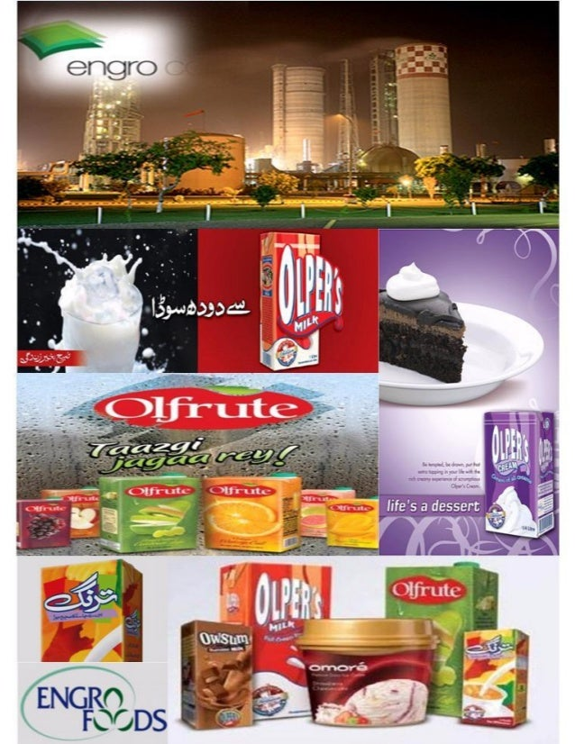 Marketing Strategy Of Engro Foods