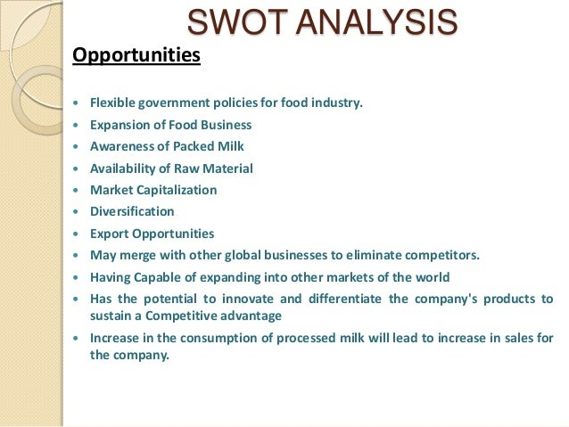 hershey foods company swot Hershey continues to pursue an idiosyncratic strategy, looking to slowly move up  the value chain within chocolate, whilst diversifying its range of snack products.