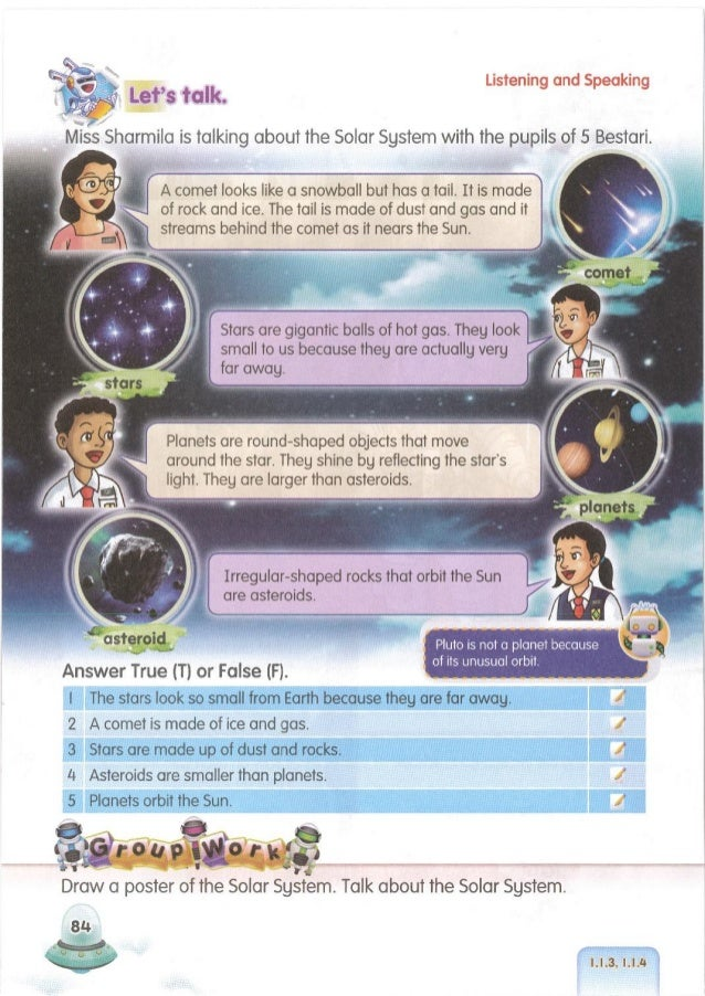 1.1.3, 1.1.4, 1.2.4 i 85 What do they do if they get sick in space? They read books, listen to music, watch movies, and lo...