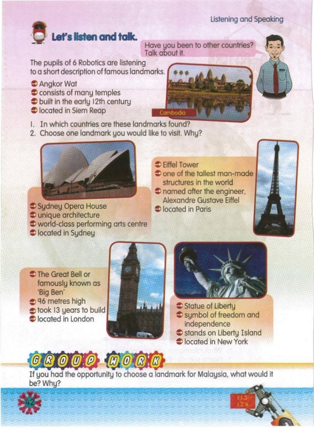 ---f@~If you had the opportunity to choose a landmark for Malaysia, what would it be? Why? = Statue of Liberty = symbol of...