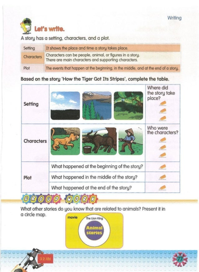 Write sentenceson the similarities and differences between the lion and the cow. Examples: Similarities Both the lion and ...