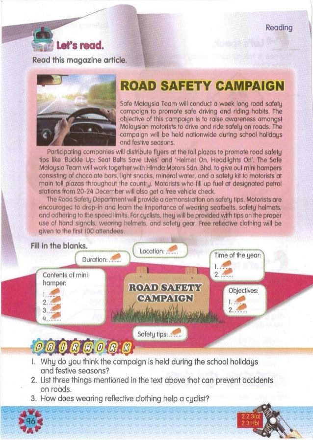 Create a slogan on safety for the Living Skills workshop. Display and present it. I. Get consent before using any tools. 2...
