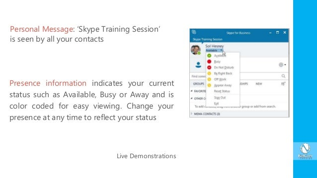 Enhance Business Communications using Skype for Business