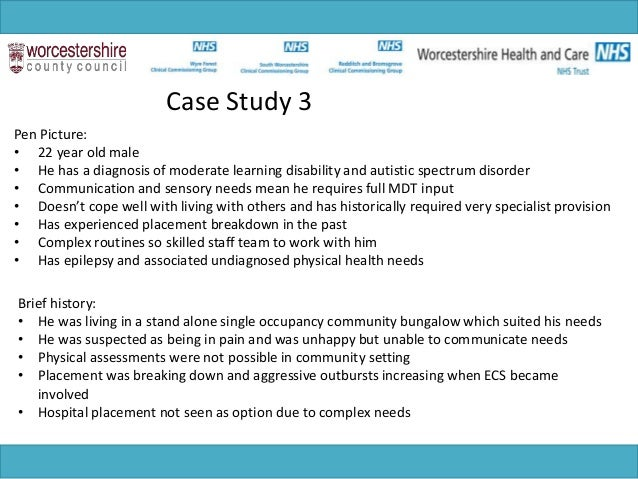case investigation associated with getting to know disability