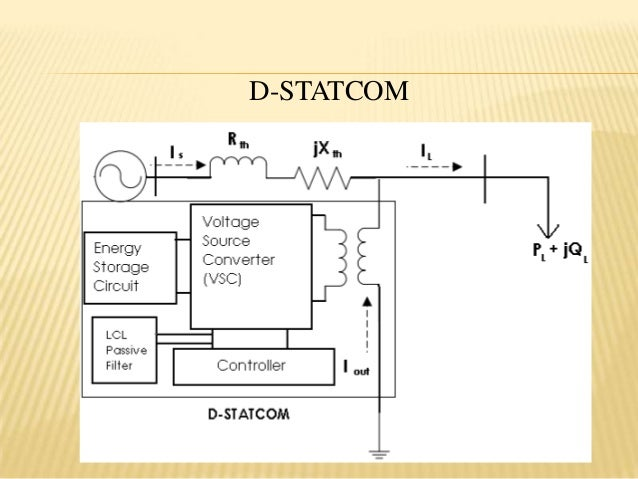 enhancement of power quality in distribution system using d statcom, wiring diagram