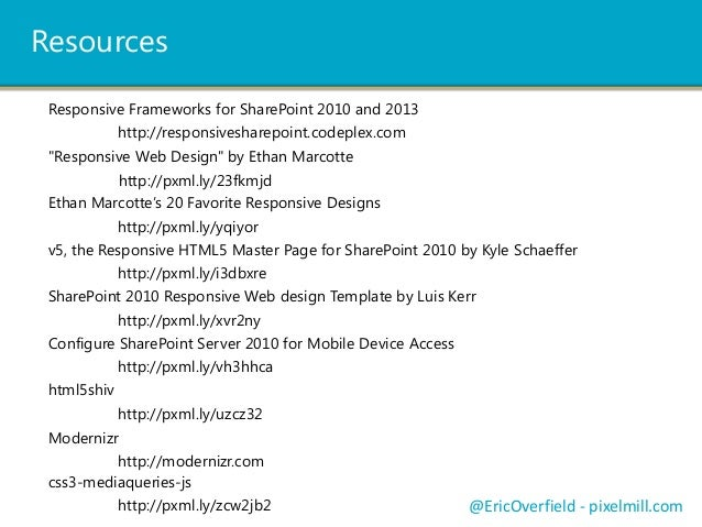 sharepoint responsive template - enhance sharepoint 2013 with responsive web design