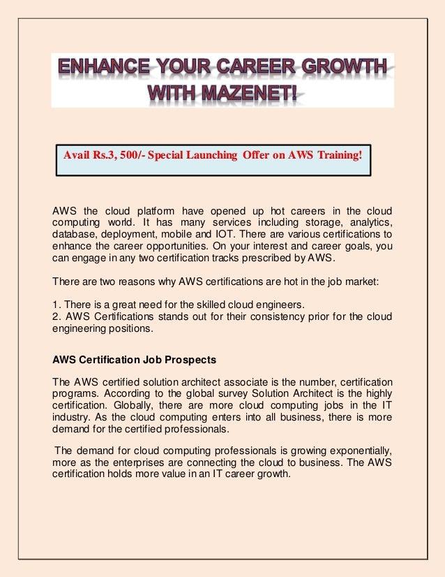 Enhance Your Career Growth With Mazenet