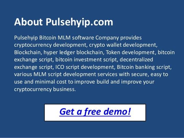 Bitcoin MLM Software | Bitcoin MLM PHP script