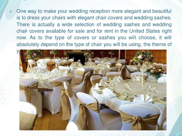 Enhance Your Event With Different Elegant Chair Covers