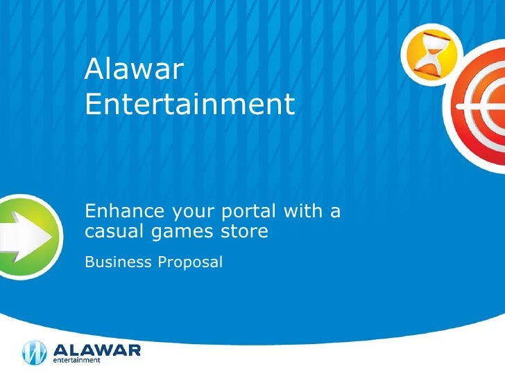 Alawar Entertainment   Enhance your portal with a casual games store Business Proposal