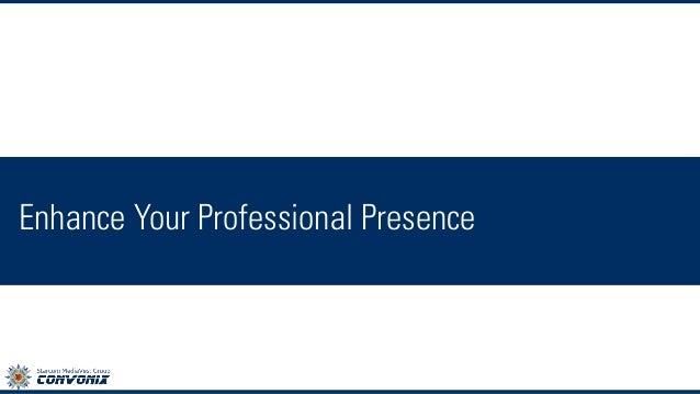 Enhance Your Professional Presence