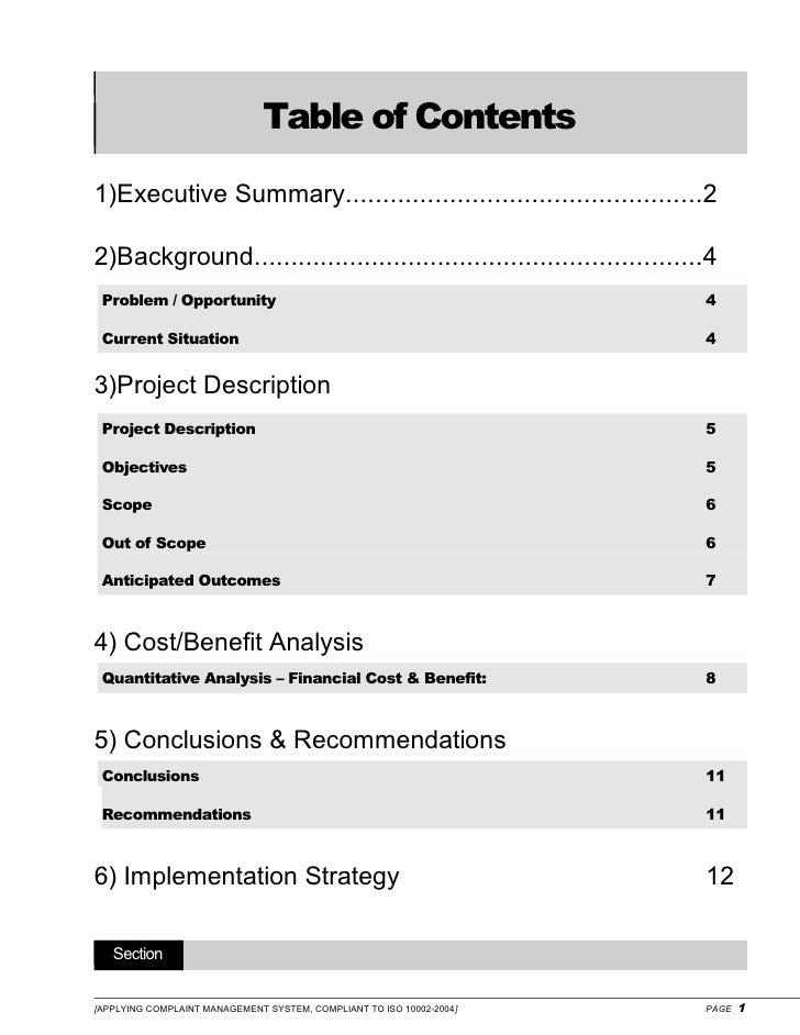 customer complaint management system pdf