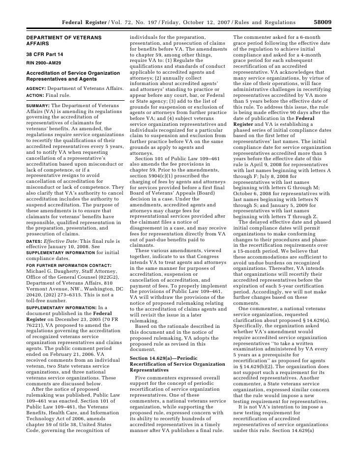 58009                                                             Federal Register / Vol. 72, No. 197 / Friday, October 12...