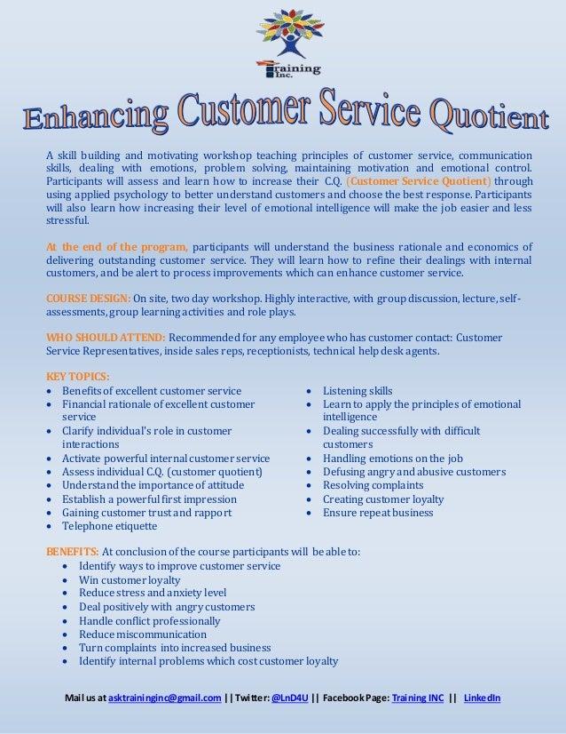 teaching customer service - Ataum berglauf-verband com