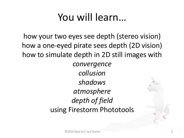 Enhancing Depth in Virtual Images Slide 2