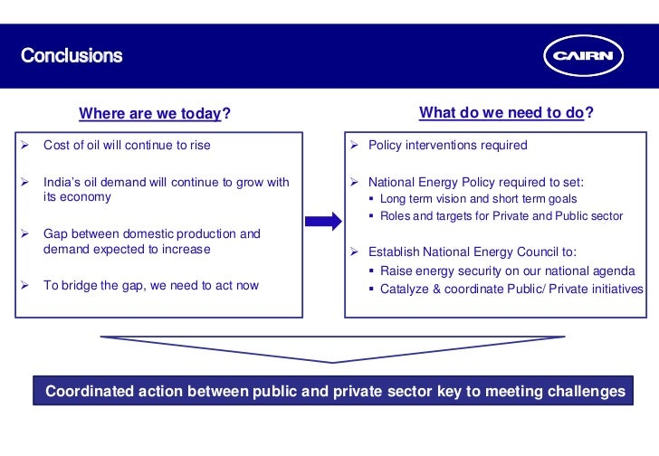 Indias energy security concerns and its implications