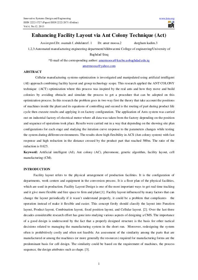 Innovative Systems Design and Engineering  www.iiste.org  ISSN 2222-1727 (Paper) ISSN 2222-2871 (Online) Vol.4, No.12, 201...