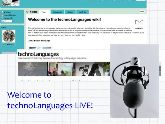 Welcome to technoLanguages LIVE!