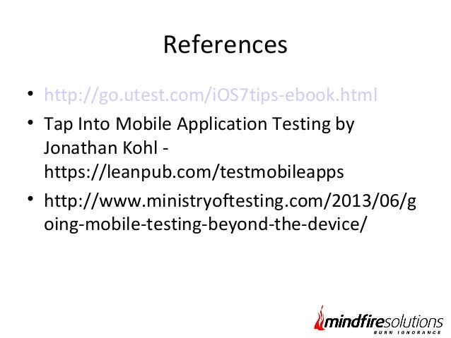 Qa manual tester ebook automated testing lifecycle array enhancing mobile apps quality manual testing revisited rh slideshare net fandeluxe Gallery