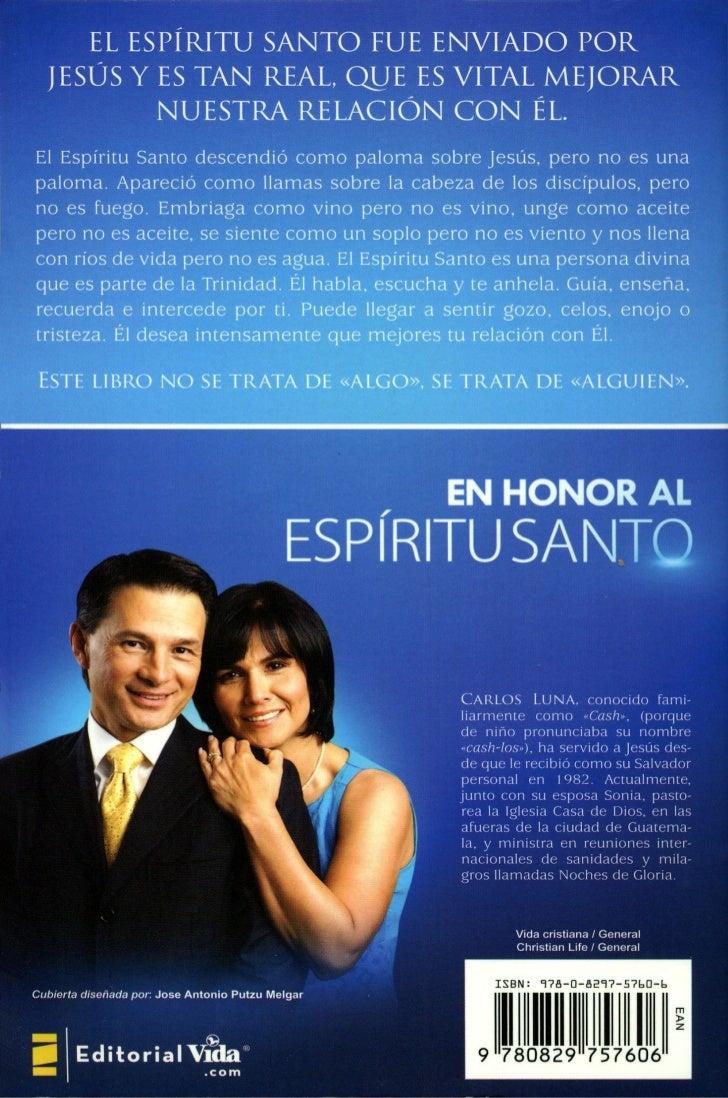 libro de cash luna en honor al espiritu santo pdf