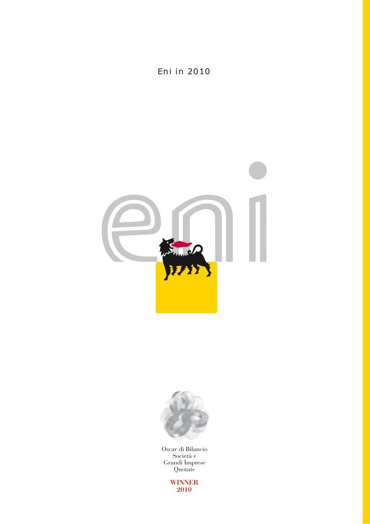 Eni in 2010
