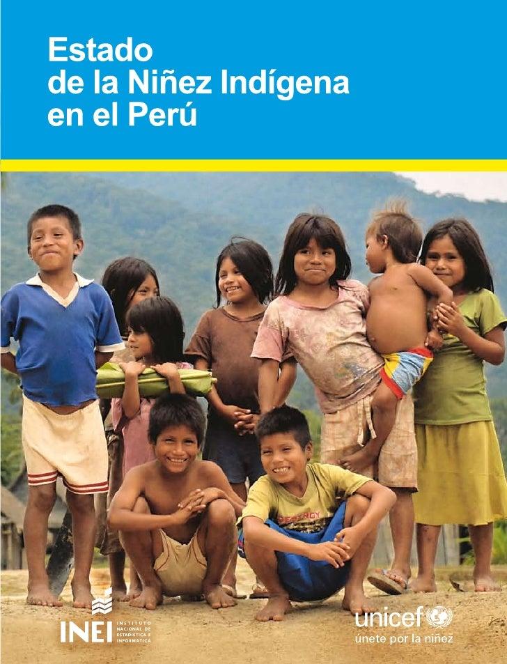 Estado de la Niñez Indígena en el Perú