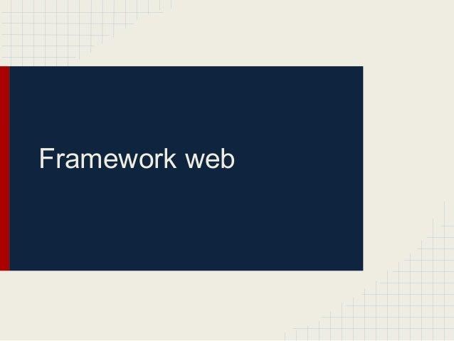 Framework web