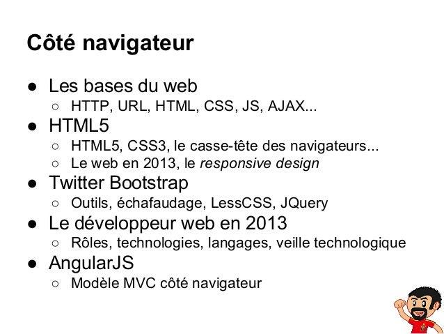 ENIB 2013-2014 - CAI Web #1: Côté navigateur 1/3 Slide 3