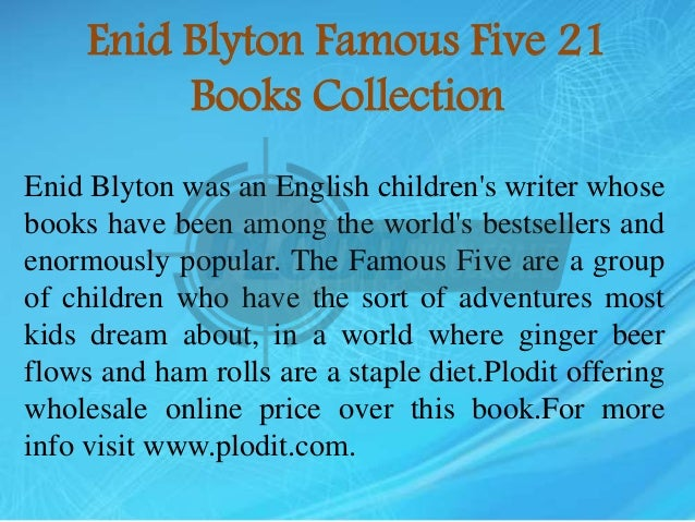 Famous Five (21 book set) by Blyton, Enid 1444907956 The Fast Free Shipping