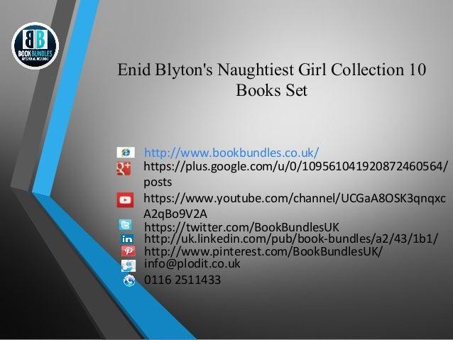 Enid Blyton's Naughtiest Girl Collection 10  Books Set  http://www.bookbundles.co.uk/  https://plus.google.com/u/0/1095610...