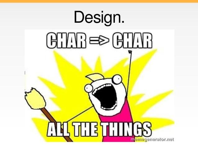 Char Ring Algebra